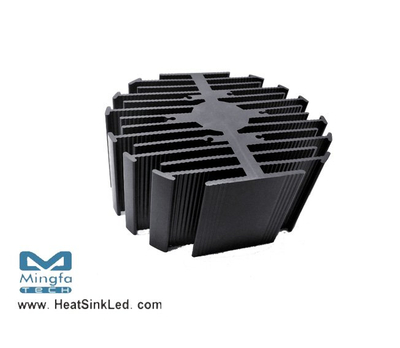 eLED-BRI-9550 Bridgelux Modular Passive Star LED Heat Sink Φ95mm