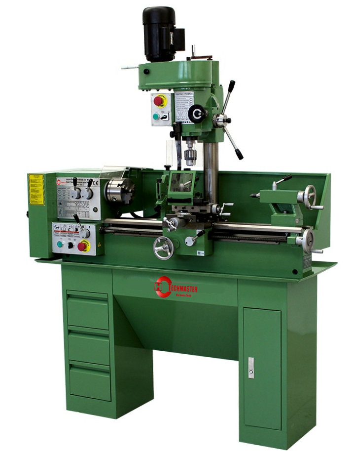 Turning lathe and milling machine T25L-3