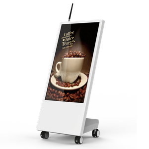 32 inch Stand Alone multadvertising Display windows or Android Digital Signage with battery powered digital signage