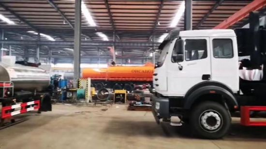 Asphalt Tank SKD for Asphalt Spray Truck (Asphalt Distributor Truck Body Part 4000L, 6000L, 8000L, 10000L Bitumen Distributor Tank)