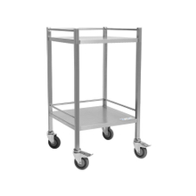 Clinicart Stainless Medical Instrument Trolley 500x500x900mm