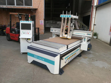 Two heads cnc router machine with drilling pack MJ-210T