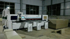 China Foshan Mingji woodworking cnc panel saw machine MJ-260A delivered to Guangzhou