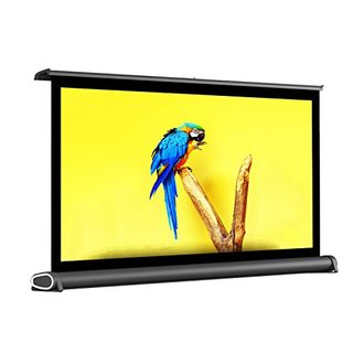 50'' 4:3 Portable Manual Screen Tabletop MIni Projection screen