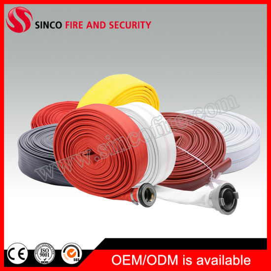 Canvas Ageing Resistance Lined Cotton Fire Hose