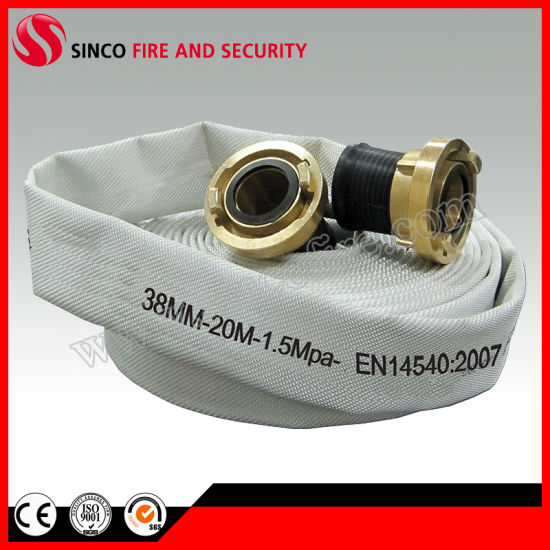 1.5 Inch 20 Bar High Pressure EPDM Lining Fire Hose
