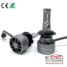 H7 LED Headlight Bulb Small Size 6000LM 6500K White All in One Conversion Kit