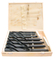 TAPER SHANK DRILL SET, MK3/MK4, MILLED MATERIAL