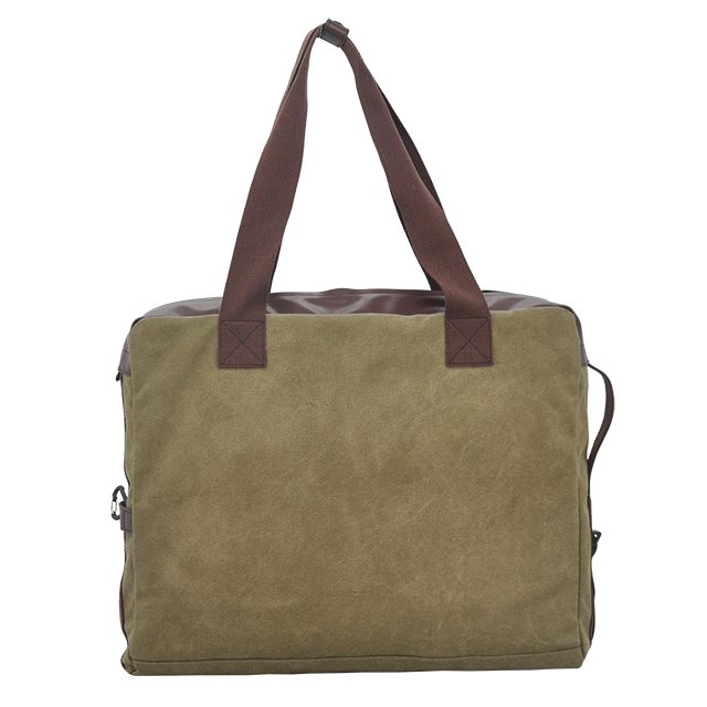 Large capacity canvas travel bag