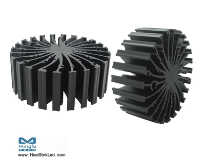 EtraLED-LUM-13050 LumiLEDs Modular Passive Star LED Heat Sink Φ130mm
