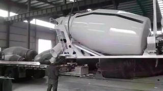 Concrete Mixer for Tunnels (Cement Agitator Tank) 3-12cbm
