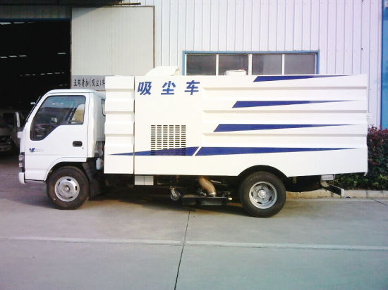 Isuzu Road Vacuum Dust Sweeping Truck