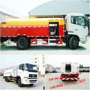 High Pressure Cleaning Water Jetting Tanker Truck 8000 ~10000L Euro 4