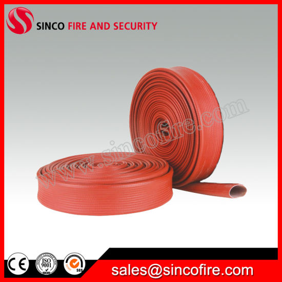 Red Fire Hose Industrial Fire Hose