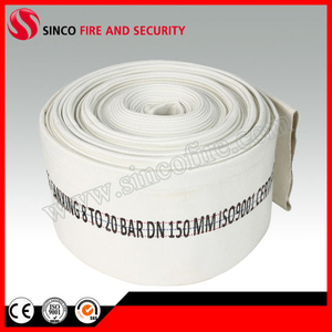 1-8 Inch PVC Durable Canvas Fire Fighting Hose