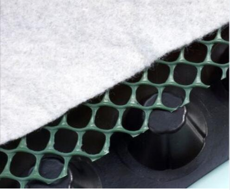 Plastic Single Side Dimple Green Roof Composite Drainage Board