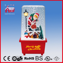 (P16029A) China LED Christmas Decoration with Santa Claus Inside