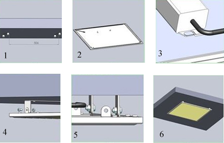 led light installation instructions