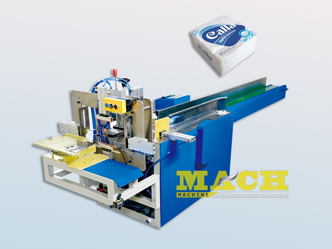 Semi-Automatic-Facial Tissue and Paper Napkin-Packing-Machine
