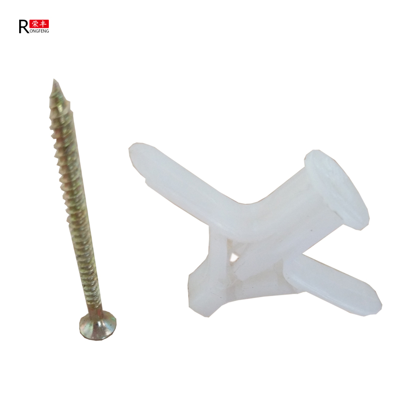 Nylon aircraft type anchor plug