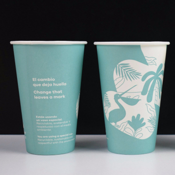 Disposable Customized Printed Coffee Tea Hot Drink Paper Cup China Factory