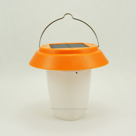 Portable Solar Powered LED Lamp Camping Lantern