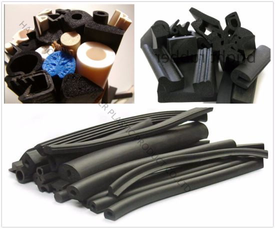 High Quality Customized Extrusion Rubber Parts