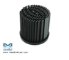 xLED-CRE-7050 Pin Fin Heat Sink Φ70mm for Cree
