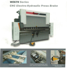 WE67K SERIES CNC ELECTRO-HYDRAULIC PRESS BRAKE