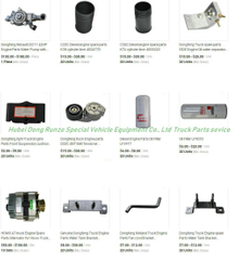 Dongfeng Truck Parts (Truck Engine Parts)