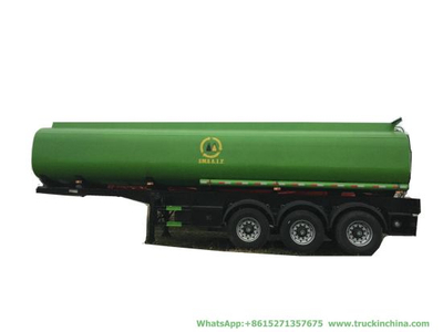36000L Oi Fuel Tanker Trailer (Carbon Steel or Stainless Steel Tank 4 Compartments for Diesel, Oil, Gasoline, Wast, Water, Petrol Road Transport)