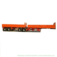 Customized Double Combination Interlink Trailer (Dolly 2-6 Multi Axles 20T -80Tone)
