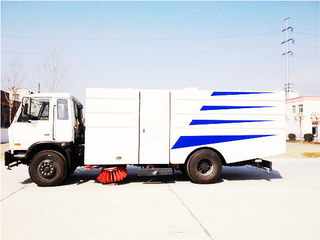 Dongfeng Road Sweep Truck 6m3-7m3