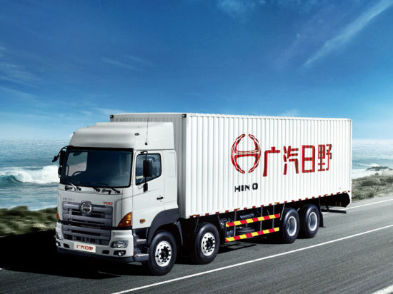 Hino 700 Cargo Trucks 8X4 Horse Power 350 -380HP