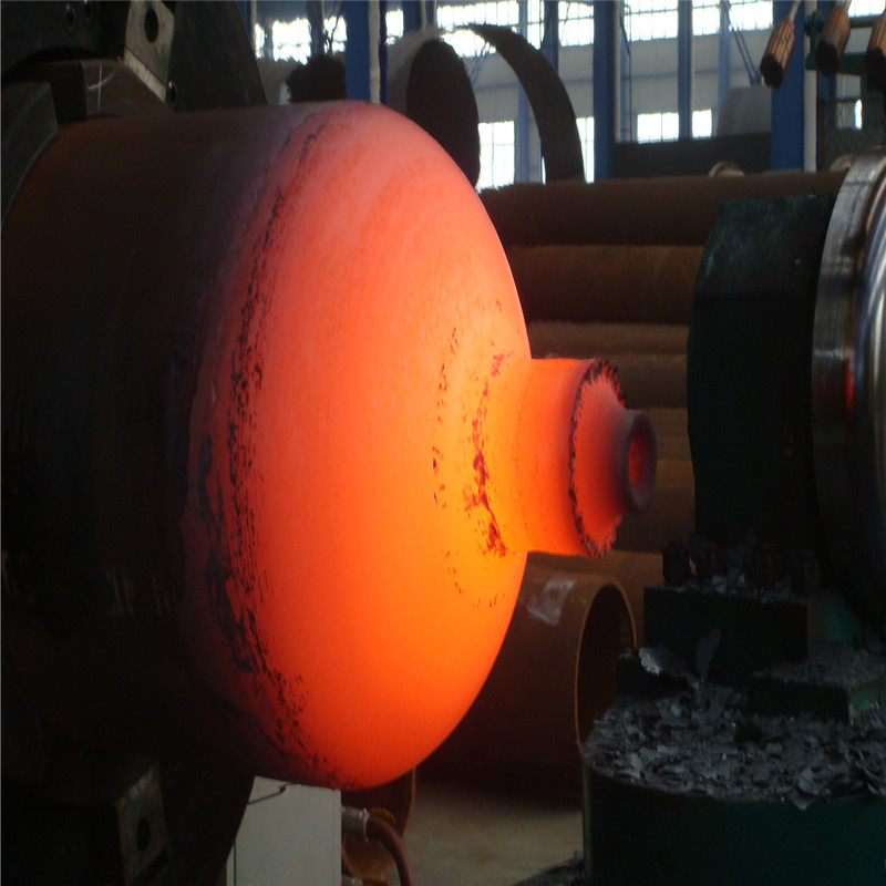 Steel45 СNG cylinder hot spinning machine