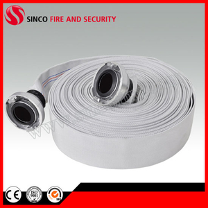 PVC Rubber Lining Used Fire Hose with Fire Hose Couplings