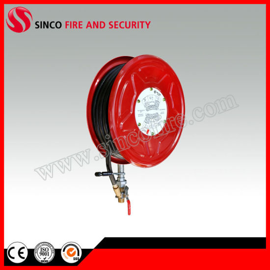 19mm X36m Red Hose Brass Nozzle Fire Hose Reel
