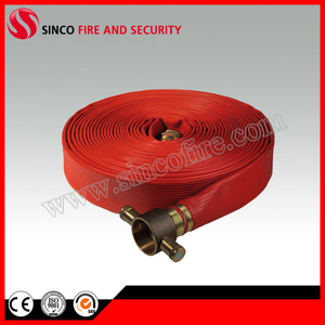 Synthetic Rubber Fire Fighting Hose with BS Coupling
