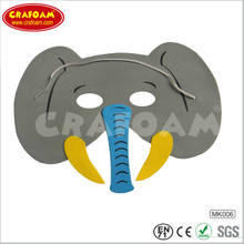Wholesale animal mask for kids eva foam mask toy with high quality