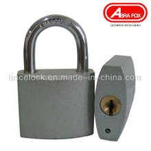 Silver Paint Iron Padlock, Grey Iron Padlock. Normal Key (303S)