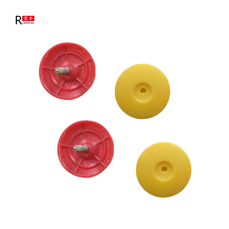New type colorful plastic cap nail/red cap nail