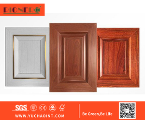 Hot Sale Solid Wood PVC MDF Frame Cheap Price Kitchen Cabinet Door