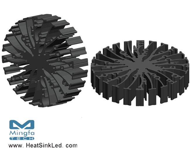 EtraLED-GE-9620 for GE lighting Modular Passive LED Cooler Φ96mm