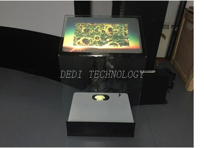 "Dedi 32""Ultra Slim Glass Kiosk with Capacitive Touch"