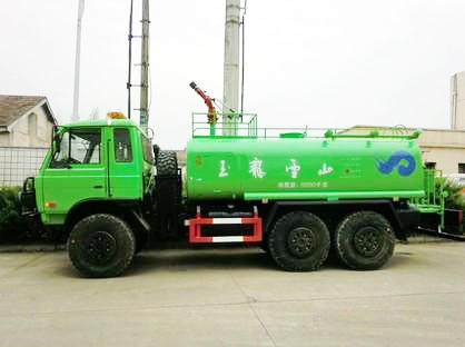 Dongfeng off Road 6*6 All Wheel Drive Water Truck with Fire Pump