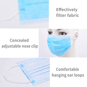 Anti-Pollution 3 Laye Mask dust protection Masks