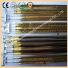 Gold-plated infrared heating tube, short-wave infrared heating tube, medium-wave infrared heating tube