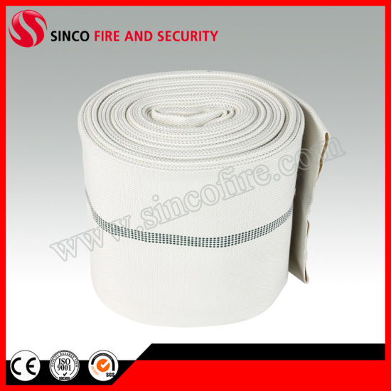 PVC/Rubber Fire Hose with Fire Hose Cabinet and Rack