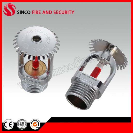 Upright and Pendent Standard Spray Sprinklers for Fire Fighting