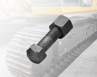 Track Shoe Bolt , Heavy machine tracked screws